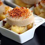 recette Boudin blanc à la pomme et au pain d'épices