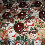 recette Mes pop macarons de Noel (à la créme de marron)