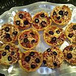recette mini pizza (sauce tomate )