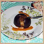 recette Dôme au chocolat