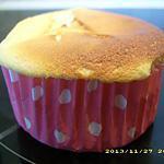 recette petits gâteau légers au fromage blanc et citron (diététique)