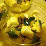 recette verrines fraîcheur ananas-passion