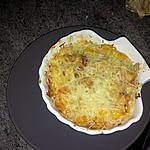 recette gratiné de saint jacques aux poivrons jaune