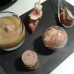 recette ardoise apéritive de noël autour du foie gras