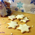recette Etoiles au citron de Noël