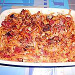 recette GRATIN  DE  TAGLIOLINI  RAGU D'ANATRA