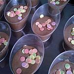 recette folie de mousse au confettis de noël
