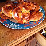 recette petit pain brioche du matin