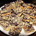 recette Carrés croquants à l'orange et au chocolat