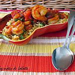 recette Ragoût de crevettes et chorizo et leur riz à la mexicaine