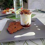 recette Verrine Spéculoos Caramel Cannelle  Fromage Blanc