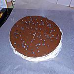 recette Bavarois au chocolat et à la vanille
