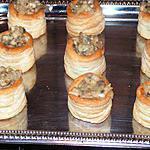 recette Mini bouchées au gorgonzola