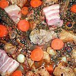 recette Sauté de porc aux lentilles vertes du puy