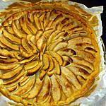 recette TARTE aux pommes simple fait par Loulou