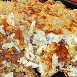 recette Gratin de pâtes/ viande hachée/ légumes