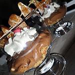 recette Mousse au chocolat à la créme chantilly et sa brochette de clementines(gourmandise anniversaire de mon chéwi)