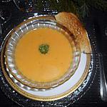 recette Soupe aux poivron et kirri.
