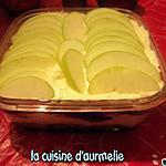 recette Tiramisu aux coulis de fraise et pomme