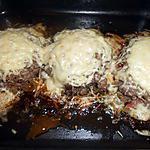 recette Steak haché aux fromage