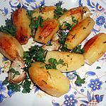 recette Petites pommes de terre au romarin,ail et piment