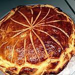 recette Galette frangipane poire chocolat, facile, rapide et bonne