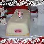 recette Bûche de Nöel au citron coeur de framboise et....mon filleul qui ouvre ses cadeaux ?