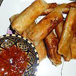 Rouleaux d'inspiration nems (poulet/crevette)