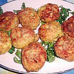 recette Boulettes de poulet au parmesan
