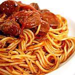 recette Spaghetti bolognaise chorizo