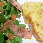 salade façon raclette