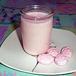 recette Yaourt à la fraise bonbon