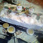Buche glacé framboise coco