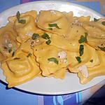 recette RAVIOLI  RICOTTA  TRUFFE