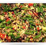recette Salade d'asperges