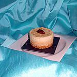 recette bavarois caramel vanille sur fond de sablé breton