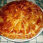 recette Galette des rois aux pommes et spéculoos