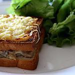 recette Croque Champignon