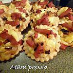 recette Minis bouchées au lard