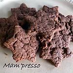 recette Sablés chocolat