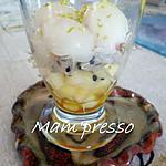 recette Verrine de fruits exotiques