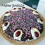 recette Gâteau façon forêt noire (gâteau d'anniversaire)
