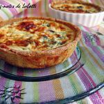 recette Tartelettes saumon fumé, tatsoï et curry