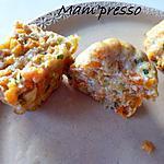 recette Flan de courgette et carottes façon cannelés