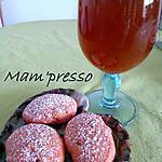 recette Sablés et jus de pommes safrané