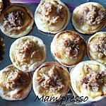 recette Minis tartelettes au thon