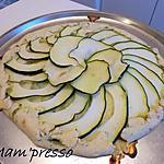 recette Tarte toute courgette sans moule