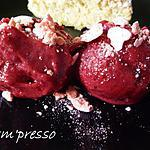 recette Sorbet de fruits rouges (sans sorbetière)