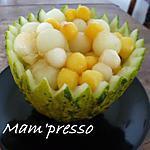 recette Salade de fruits jaunes