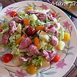 recette Salade de gésiers
